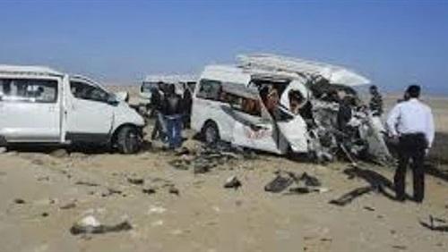 """إصابة 9 في حادث انقلاب أتوبيس بـ""""بورسعيد - الإسماعيلية"""""""