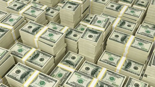 الدولار يستقر عند 12,80 جنيه