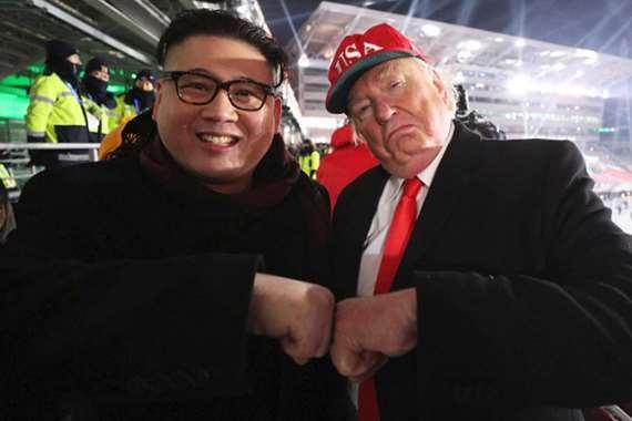 ترامب وكيم من افتتاح الأولمبياد بكوريا الجنوبية