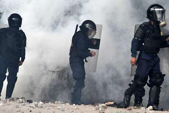 بالصور.. ضد الرئيس هيرنانديز احتجاجات فى هندوراس