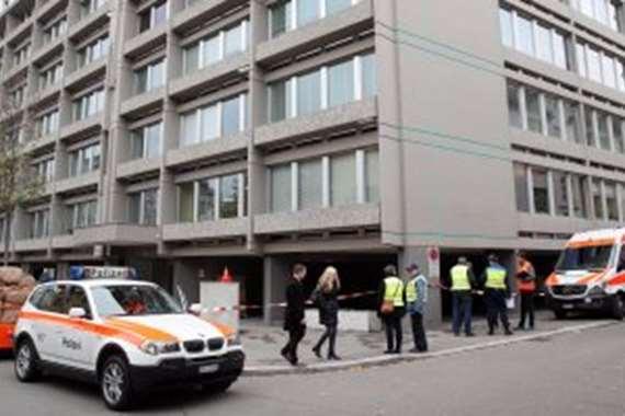 إطلاق نار أمام مصرف في سويسرا