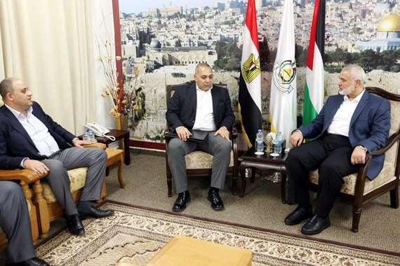 وفد أمني مصري في غزة