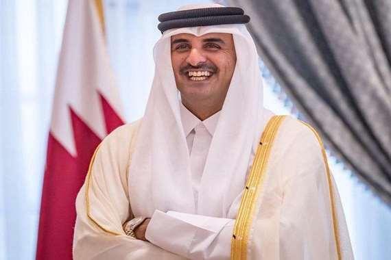 الشيخ تميم أمير دولة قطر
