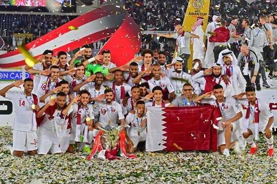 فوز قطر بكأس آسيا