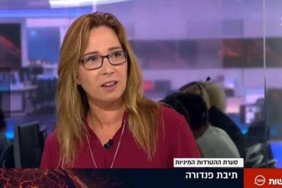 أوشرات كوتلير الصحفية في القناة الـ 13 بالتلفزيون الإسرائيلي