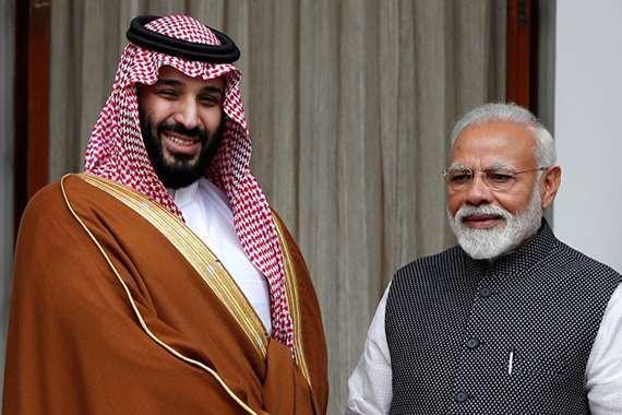 محمد بن سلمان ورئيس الهند