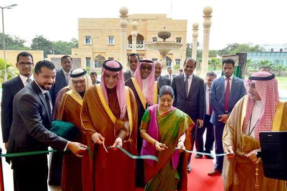 «الجبير» يفتتح مبنى السفارة السعودية في الهند