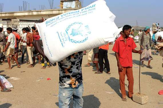 المساعدات الإنسانية لليمن