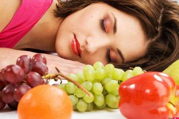 النوم بعد الأكل