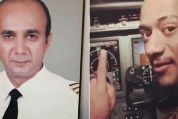 الطيار الموقوف ومحمد رمضان