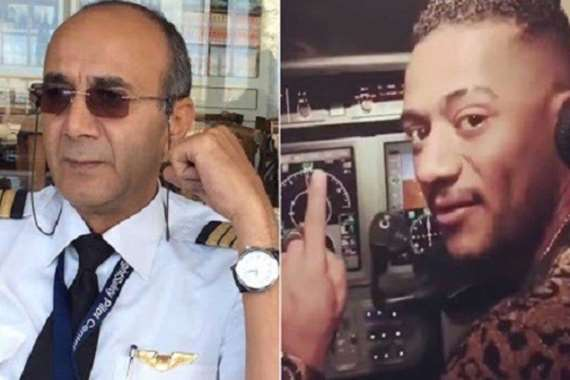 الطيار ومحمد رمضان