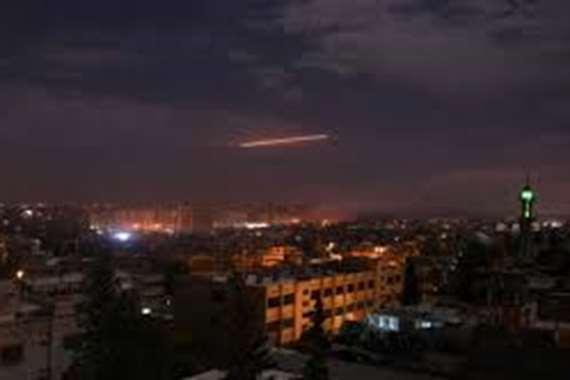 قتلى إيرانيين في غارة إسرائيلية على دمشق
