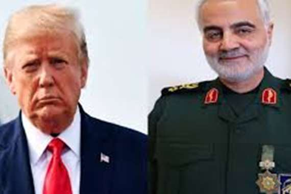 قاسم سليماني  و الرئيس الامريكي