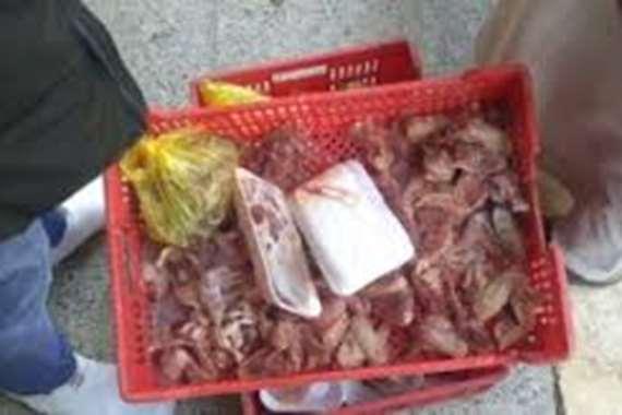 اعدام 2 طن اغذية فاسدة في اسشوان