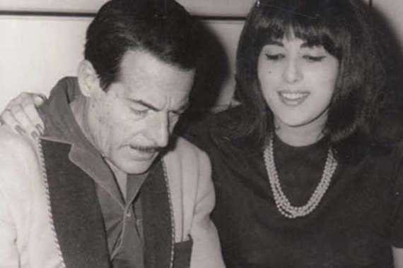 عبد السلام النابلسي وزوجته