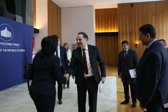 تكريم مصر في  معرض بلجراد الدولي للسياحة ITF