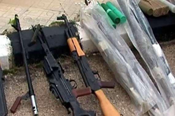 أجهزة الأمن تضبط أسلحة إسرائيلية في أسيوط