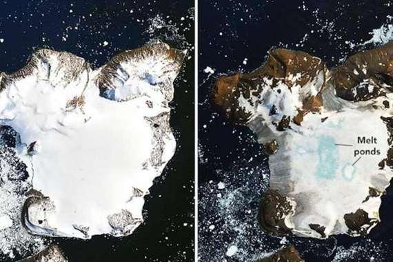 تغير القطب الجنوبي في أسابيع قليلة
