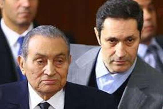 """آخر ظهور لـ """"مبارك""""  قبل وفاته"""