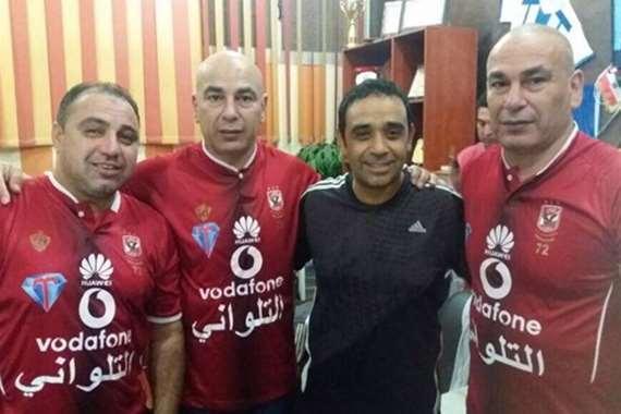 حسام وإبراهيم حسن في النادي الأهلي