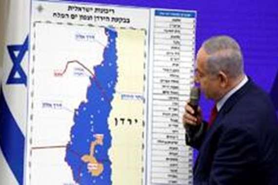 خرائط إسرائيلة لضم أراضي بالضفة الغربية