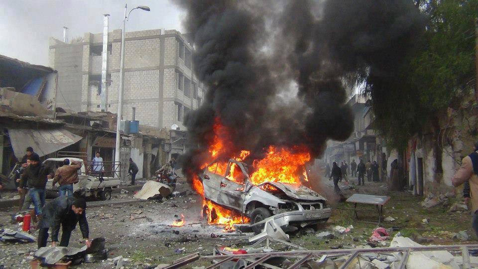 مقتل 5 مدنيين في تفجير بالعراق