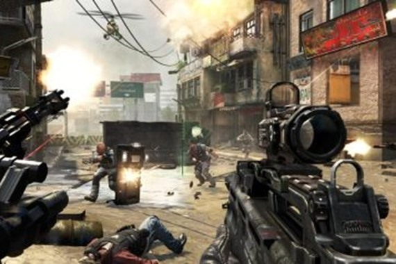 ألعاب الفيديو العنيفة