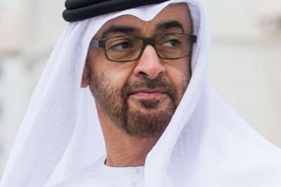 اسد الأمارت  محمد بن زايد