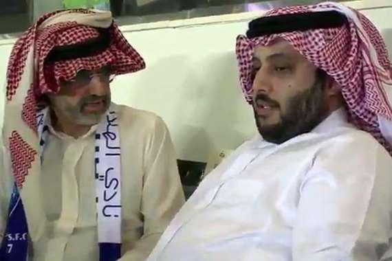بن طلال وآل الشيخ