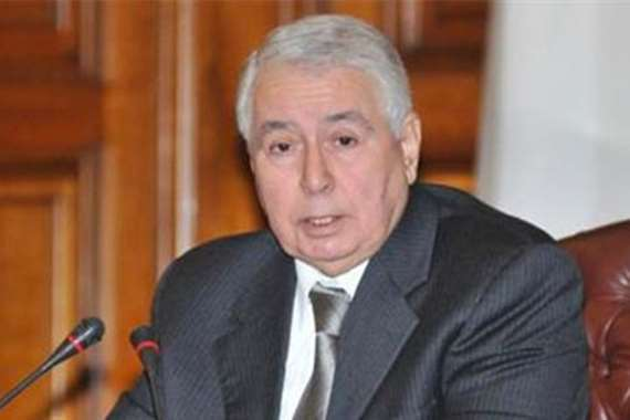 رئيس مجلس الأمة الجزائري عبدالقادر بن صالح
