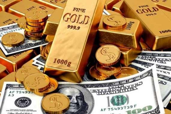 الدولار، االذهب