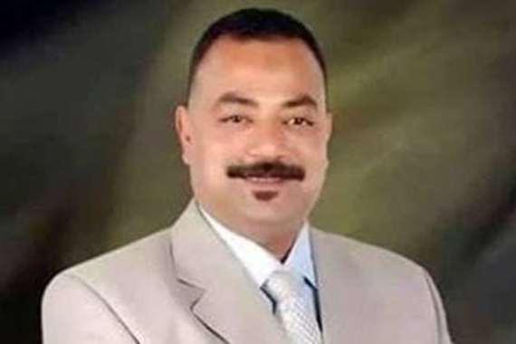 النائب على عبد الونيس عضو مجلس النواب عن دائرة دار السلام بمحافظة القاهرة