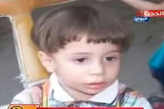 طفل البرميل
