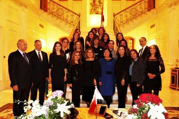 وزيرة الهجرة في لبنان