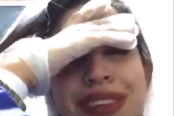 انهيار ممرضة بسبب كورونا
