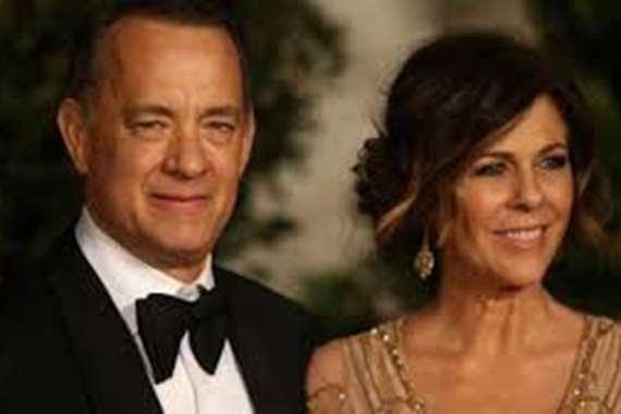 توم هانكس و زوجته ريتا ويلسون