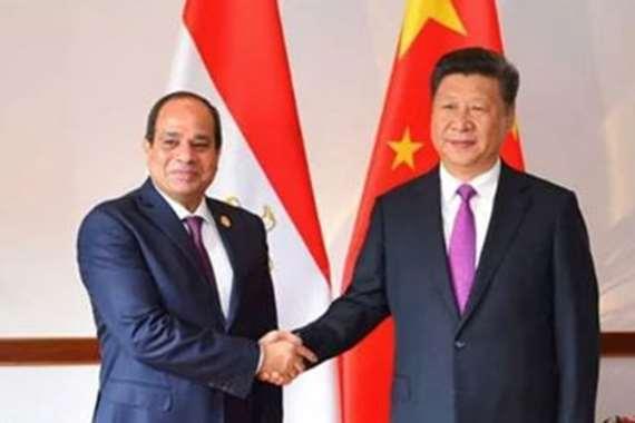 السيسي ونظيره الصيني