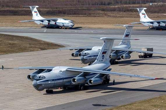 مساعدات روسية لإيطاليا