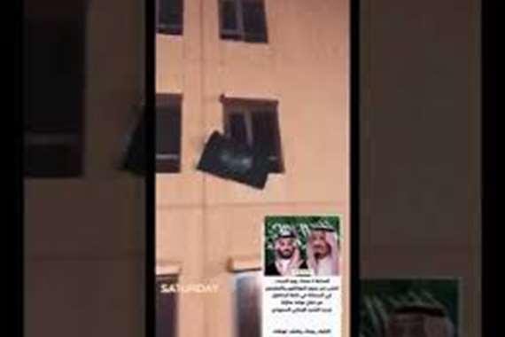 تصفيق لأبطال الصحة من فوق أسطح المنازل بالسعودية