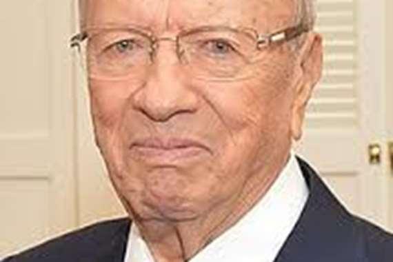 الرئيس التونسي الراحل قائد الباجي السبسي
