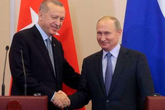 رئيسي تركيا وروسيا