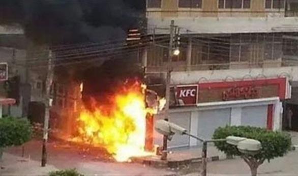 """النيابة تطلب تحريات المباحث للكشف عن ملابسات حريق """"كنتاكي"""""""