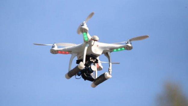 ضبط طائرة بدون طيار أعلى حقول بترول بالدقهلية