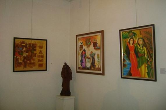 صورة المعرض التشكيلي