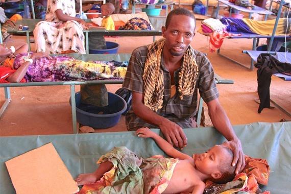 إصابة 25 ألف شخص بالكوليرا في الصومال