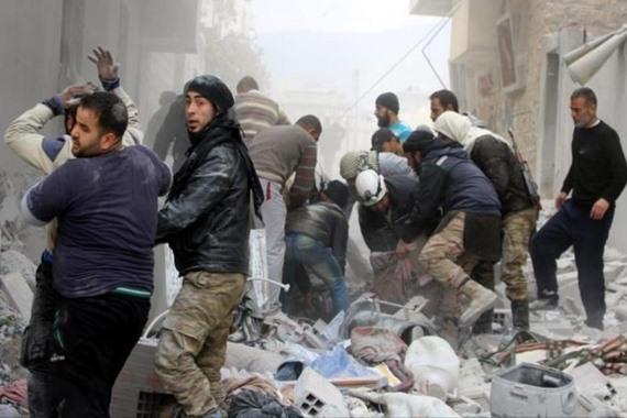 روسيا تقتل 5 سوريين في غارة على إدلب