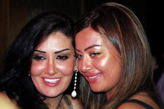 غادة عبد الرازق وابنتها روتانا
