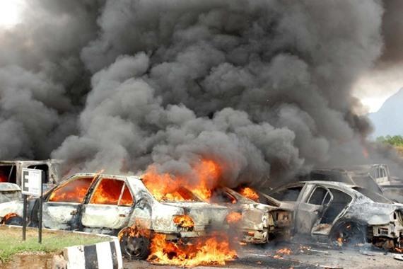 مقتل 5 أشخاص في تفجير انتحاري بسيناء