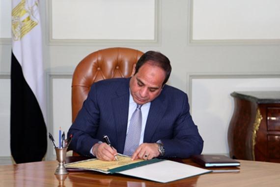 قانون السلطة القضائية، الذي صدق عليه الرئيس عبد الفتاح السيسي