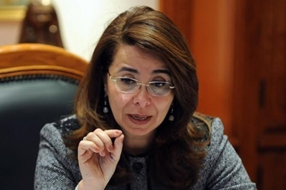 وزير التضامن الاجتماعى غادة والى